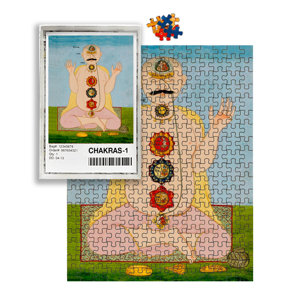 The Seven Chakras Puzzle