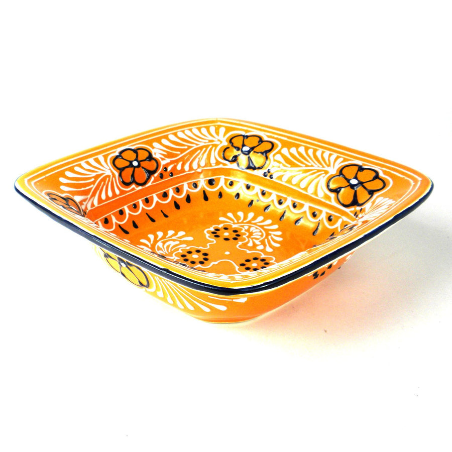 Flared Serving Bowl - Mango - Encantada (Fair Trade)