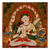 "Buddhist Art 2x2"" Metal Art Magnets"