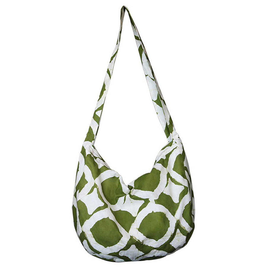 Globe Trotter Bag Fisheye Design Olive - Global Mamas (Fair Trade) (Bag)