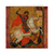 "St. George Slaying the Dragon 5"" X 5"" Blank Greeting and Note Card"