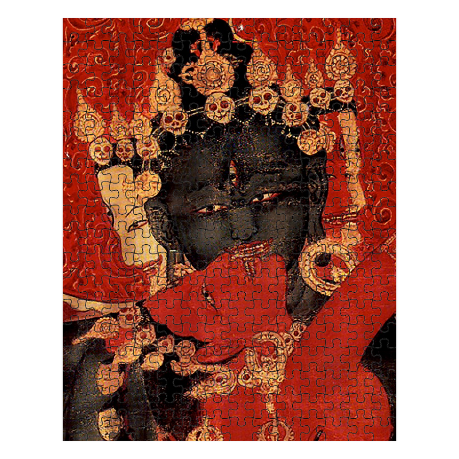 Mahakala and Consort - The Kiss Puzzle