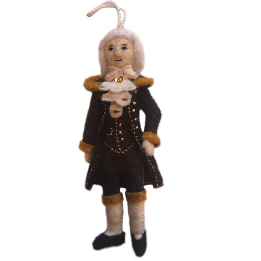 Alexander Hamilton Ornament - Silk Road Bazaar (Fair Trade)