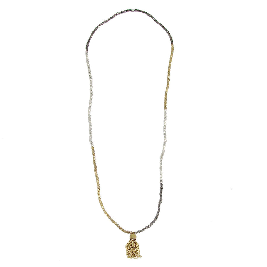 Chain Tassel Necklace/Bracelet - WorldFinds (Fair Trade)