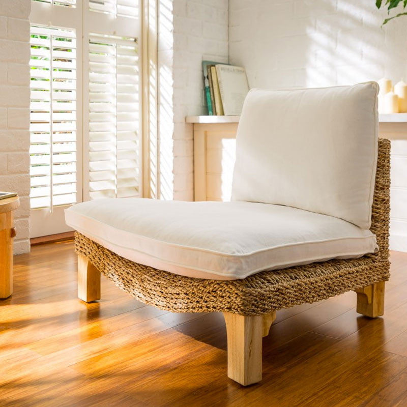 The Seagrass Harmony Meditation Chair