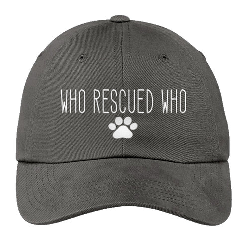 Who Rescued Who Hat