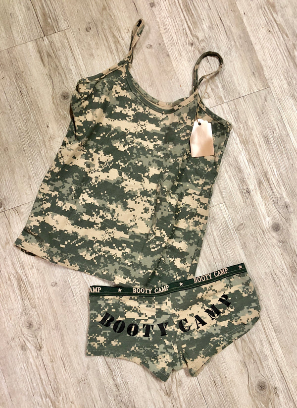 Digital Camo Tank - Booty Camp Matching Tank by Rothko