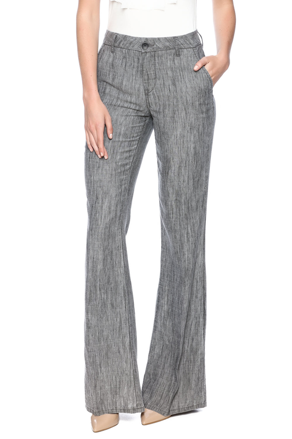 Level 99 - Light Grey Trouser Tanya Pant