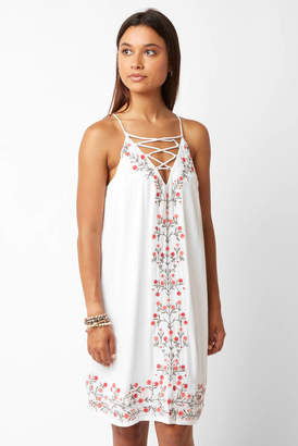 Willow & Clay Embroidered Mini Sundress