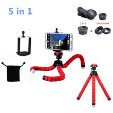 5in1 Tripod fish eye Fisheye 3in1 lenses for iPhone 5s lens 5 6 6s 7 Plus