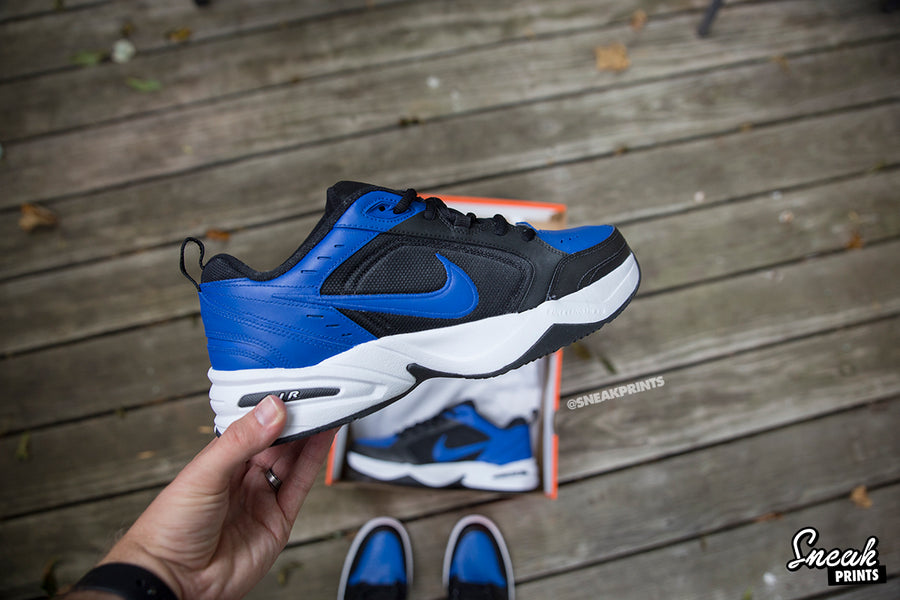 "Custom Nike Air Monarch ""Royal"""
