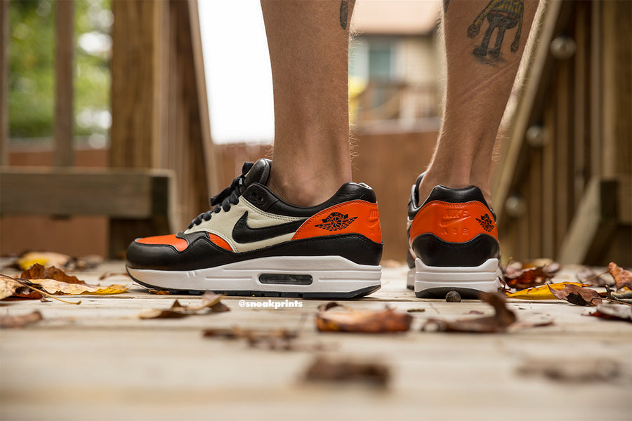 "Custom Nike Air Max 1 ""Shattered Backboard"""