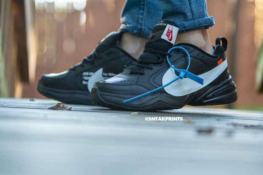 "Nike Air Monarch Custom ""Grim Reaper"""