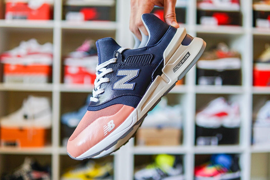 "New Balance 997s Kith ""Salmon Toe"" Custom"