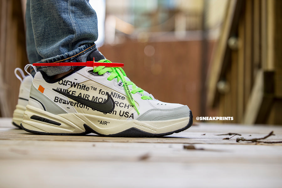 "Custom Nike Air Monarch ""Off-White"""