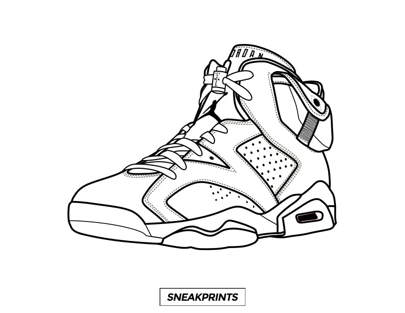 FREE Sneakprints Sneaker Coloring Pages! - SneakPrints