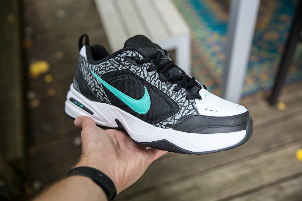 "Custom Nike Air Monarch ""Atmos"""