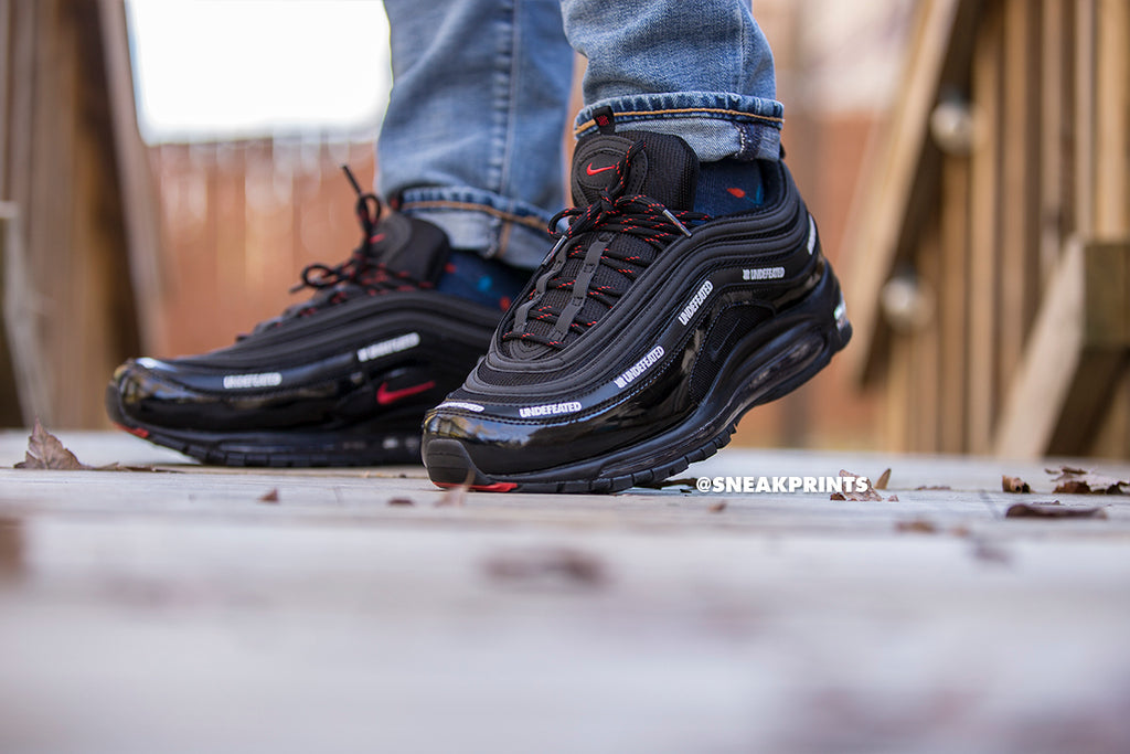 "Nike Air Max 97 ""Undefeated"" Custom"