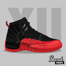Jordan XII Flu Game SneakPrints iPhone 6/7 6/7 plus Case