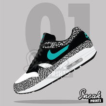 "Air Max 1 ""Atmos"" SneakPrints iPhone 6/7 6/7 plus Case"