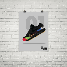 "Air Max 1 ""Master"" SneakPrints Poster"