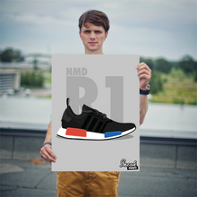 "Adidas NMD R1 ""OG"" SneakPrints Poster"