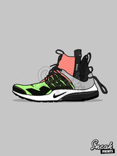 "Nike Air Presto x Acronym ""Volt"" SneakPrints iPhone 6/7 6/7 plus Case"