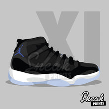 Space Jam XI SneakPrints Poster