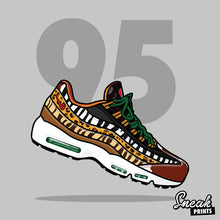 "Air Max 95 Atmos ""Animal 2.0"" Stuffed Pillow"