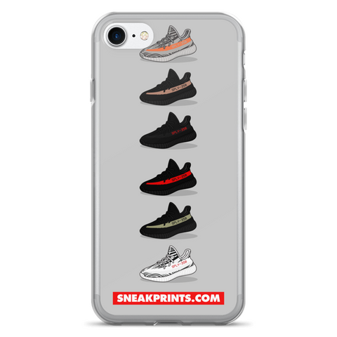 4673f5c1edc50 Adidas Yeezy v2 SneakPrints iPhone 6 7 6 7 plus Case