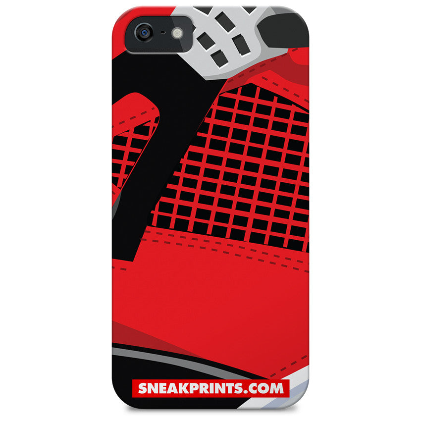 Jordan IV Toro SneakPrints iPhone 6/7 6/7 plus Case