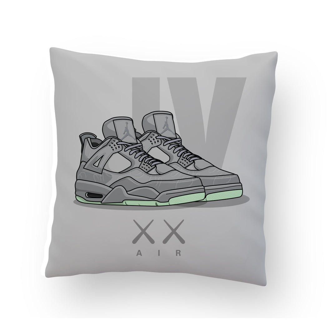 Jordan 4 x KAWS Stuffed Pillow