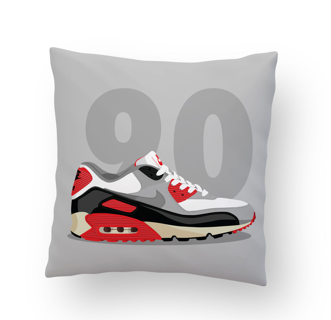 Air Max 90 Infrared Stuffed Pillow