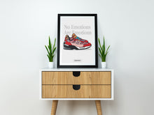 "New Balance 992 x Joe Fresh Goods ""Don't Be Mad"" SneakPrints Poster"