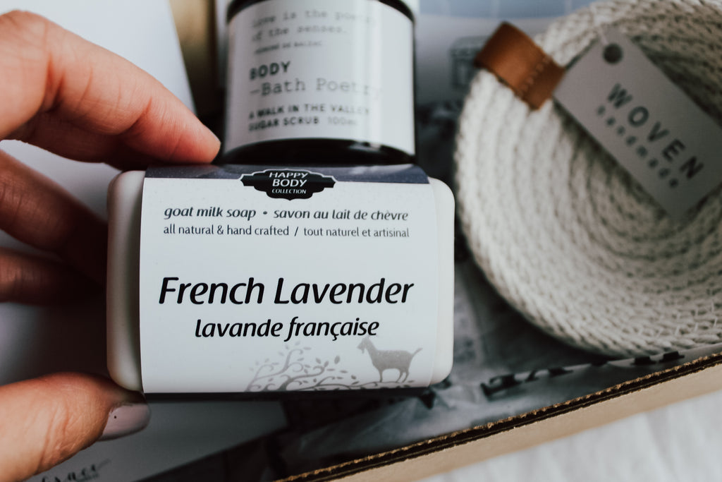 French Lavender Soap - Happy Body Collection