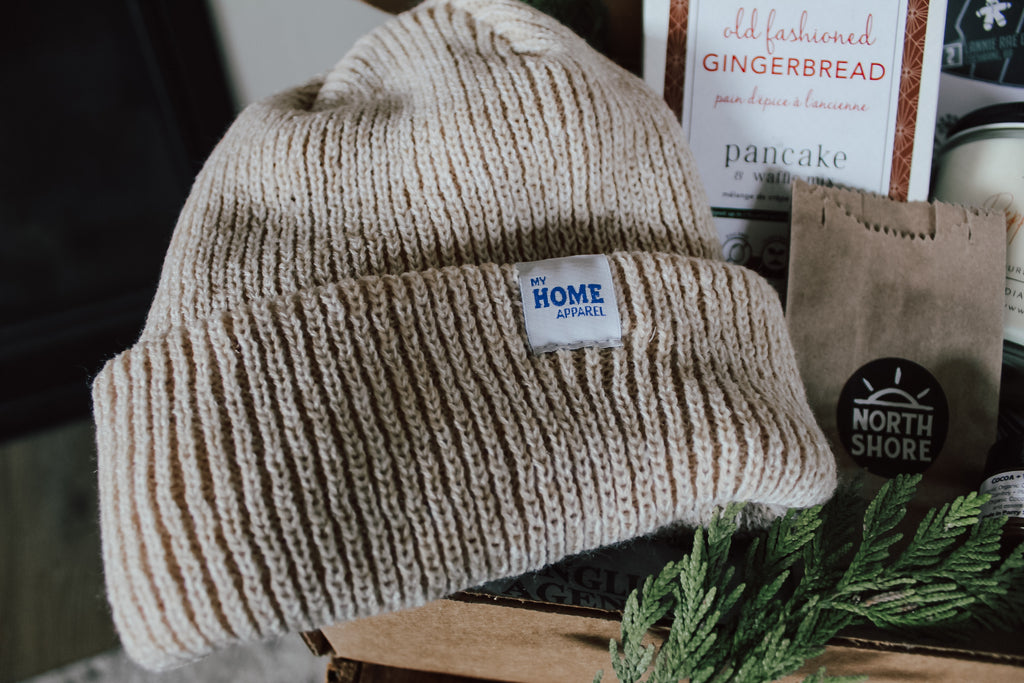 My Home Apparel's Chunky Knit Sweater Toque