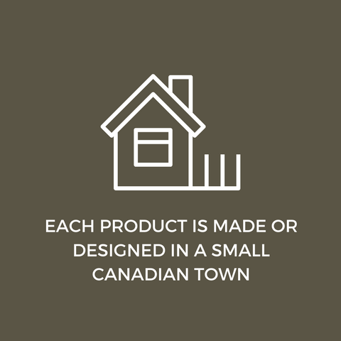 ACRE75 GATHERED: Each product is made or designed in a small Canadian town