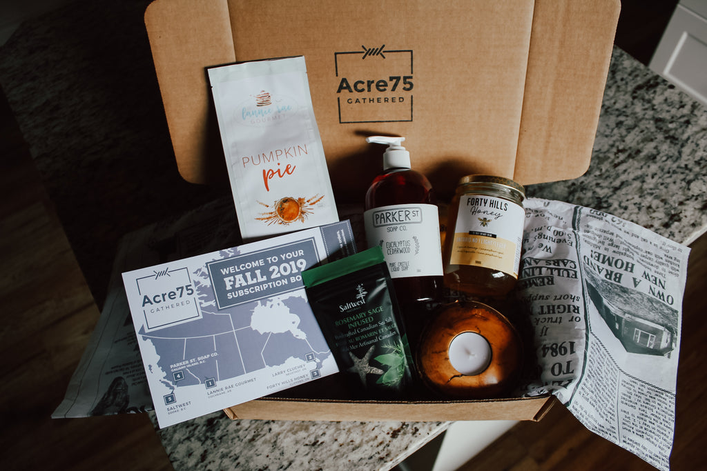 Acre75 Gathered Fall Box