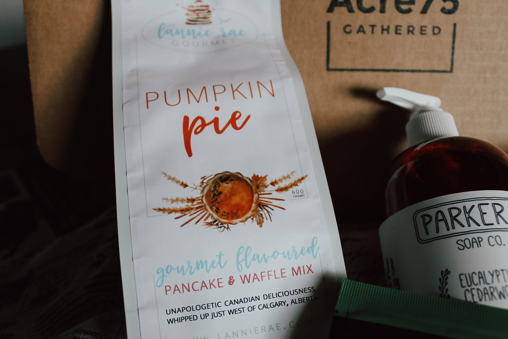 Pumpkin Pie Pancake Mix, Lannie Rae Gourmet, Acre75.ca