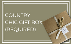 Country Chic Gift Box