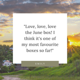 Acre75 Gathered Canadian Subscription Box Testimonial