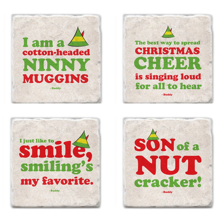 Vintage Christmas Icons Coasters - Almonte, ON