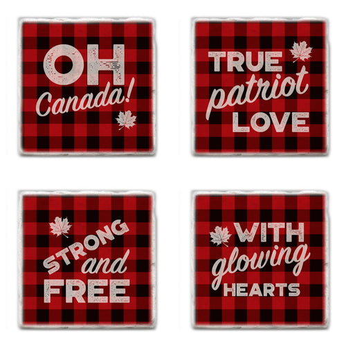 Canada Coasters, Made in Canada Gift