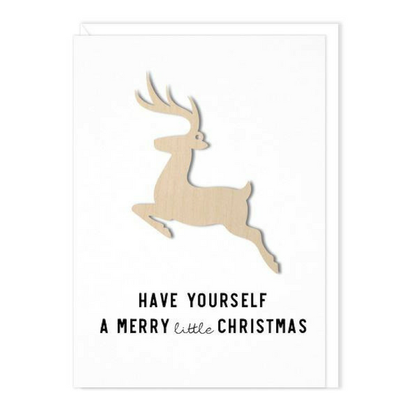 Deer Ornament Card - Rossland, B.C.
