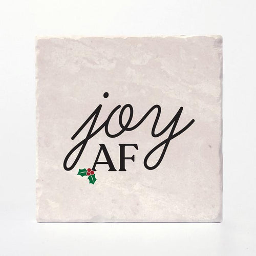 Festive AF Christmas Coasters Made in Canada Versatile Coasters
