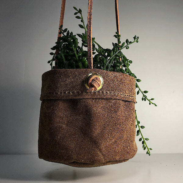 Canvas Hanging Planter - Sydney, N.S.