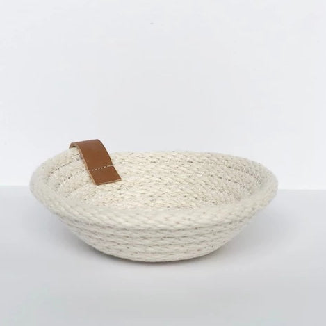 Woven Handmade Jewelry Dish - Collingwood, ON
