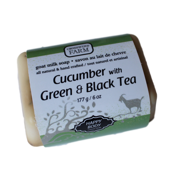 Cucumber with Black & Green Tea Soap - Keene, ON