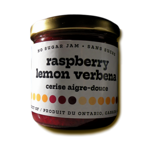Raspberry Lemon Verbena No Sugar Jam  - Trenton, ON