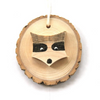 Raccoon Wooden Ornament - Walters Falls, ON